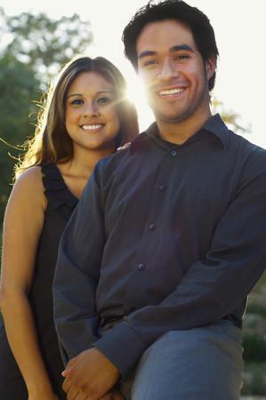 Hispanic couple posing Stock Photo - 108024926