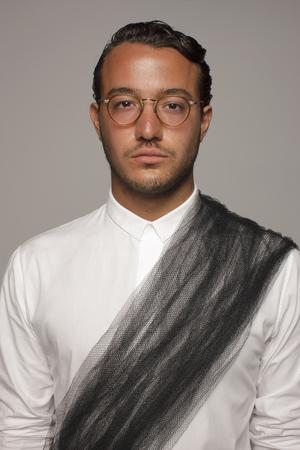 Serious Caucasian man Stock Photo