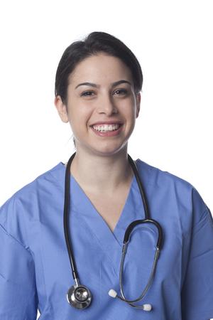 Smiling Caucasian doctor 写真素材