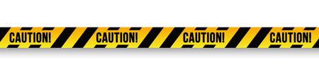 Caution danger sign.  イラスト・ベクター素材