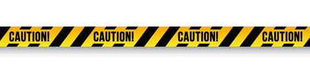 Caution danger sign. Stock Illustratie