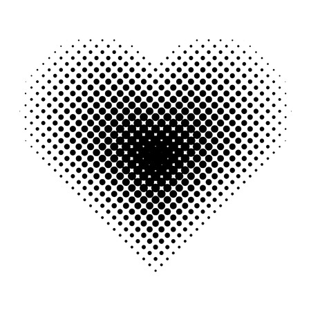 Vector halftone for backgrounds and designs Vectores