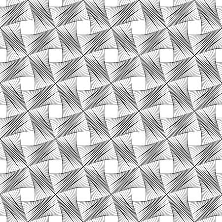Modèle vectorielle continue, conception d'emballage. Motif répétitif. Texture, arrière-plan Vecteurs