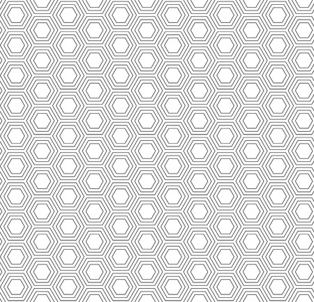 Repeating motif seamless pattern packing design.