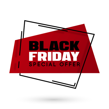 Black Friday sale vector illustration Illustration