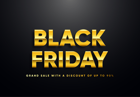 Black Friday sale vector illustration 向量圖像