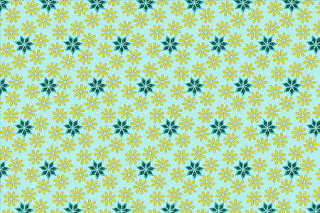 Seamless pattern of floral 스톡 콘텐츠 - 157665545