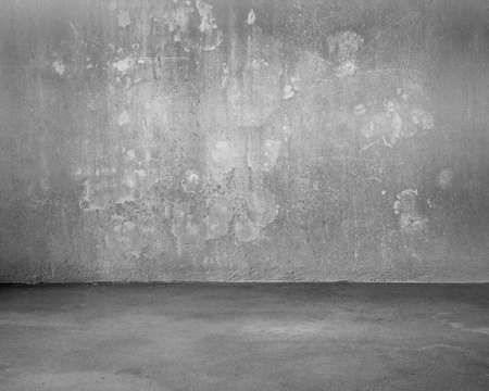 Mottled concrete room for background texture