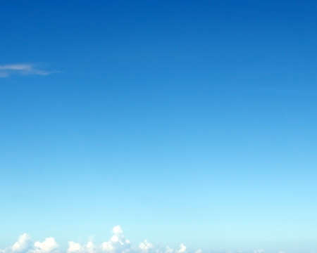 sky and clouds: Blue sky with clouds for background