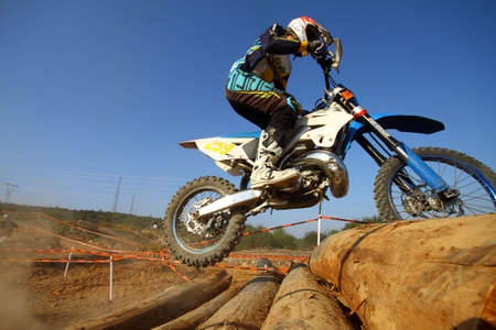 Bodrum, Turkey, 07 November 2015: The 6. leg races  of Turkey Enduro Championship has been made by the organization of Turkey Motorcycle Federation.