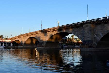 Lake Havasu City, London Bridge Editorial
