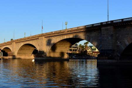 Lake Havasu City, London Bridge at sunrise