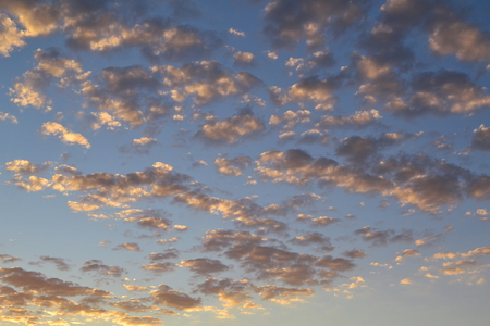 clouds and sky, morning
