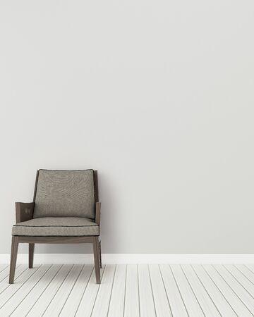 Comfort space in house. Living room interior. -3d rendering