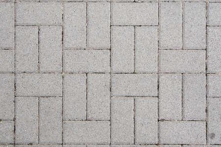 Concrete bricks with symmetrical pattern