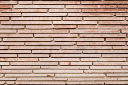 Wall texture with polished marble bricks Stock Photo