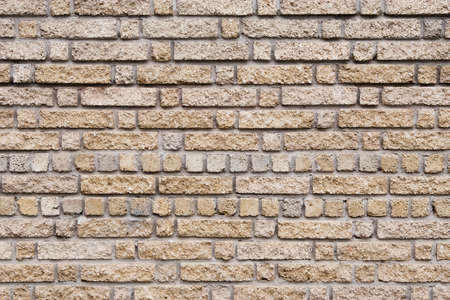Wall texture with different size of bricks