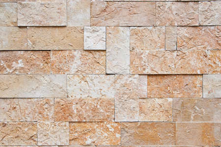 concrete form: Wall texture from different sized and formed stones