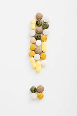 ! sign from pills (different type, color and fromed)