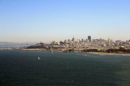 Beautiful view of the San Francisco skyline. Stock Photo - 5904879