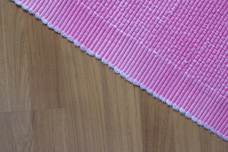 ours: pink carpet texture background Stock Photo