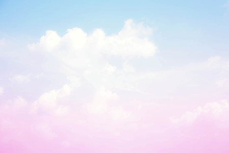 Abstract color pastel background, A soft sky with cloud background in pastel color Imagens - 79813583