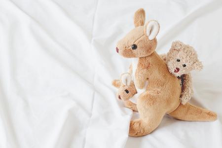 love seat: teddy bear hug kangaroo ( good feeling )