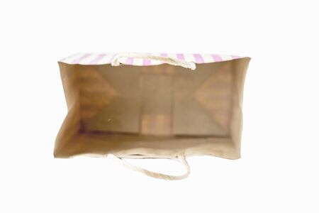 money packs: Shopping bags is pink stripe with pink background