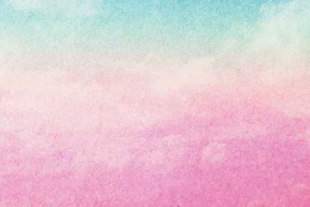 抽象的な雲空パステル カラー、創造的なカラフルな色の背景、抽象的なグラデーション カラーのパステル。