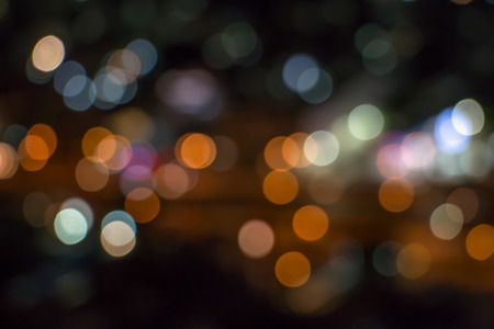 Colorful bokeh background.Abstract lights defocused background.Christmas background. Stock Photo