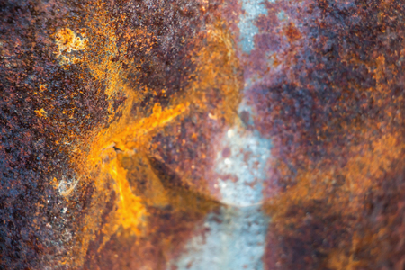 Old zinc roof texture background,Rusted metal corroded colorful background,Pattern of old metal sheet zinc. Stock Photo