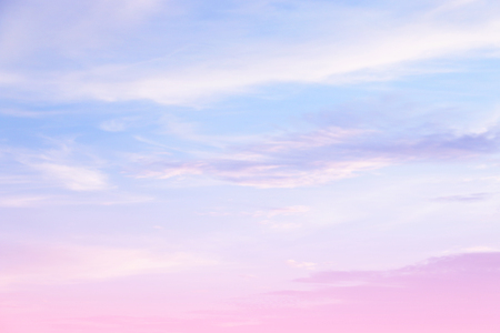 Soft cloudy is gradient pastel,Abstract sky background in sweet color. Reklamní fotografie