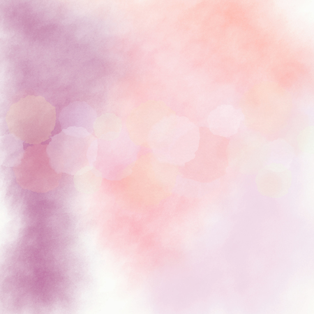 Colorful Dots in the line on a soft pastel background Stock Photo