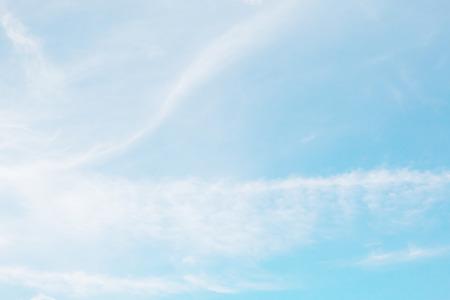 soft cloud with blue sky background Banco de Imagens
