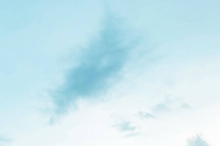 Soft cloudy is gradient pastel,Abstract sky background in sweet color. Banco de Imagens