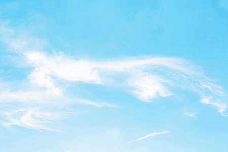 soft cloud with blue sky background Stock fotó