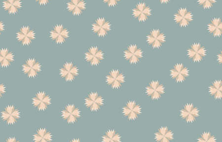 Seamless design pattern, Flower vector of fabric texture