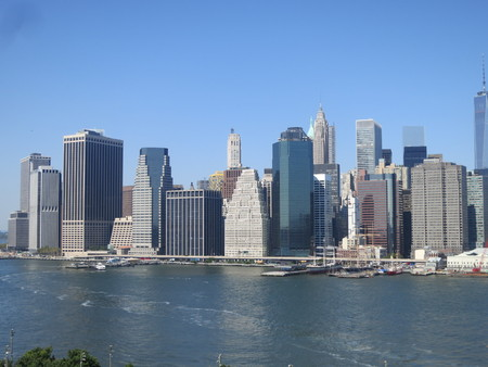 NY Skyline Stock Photo