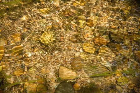 clear water: Clear water in streams