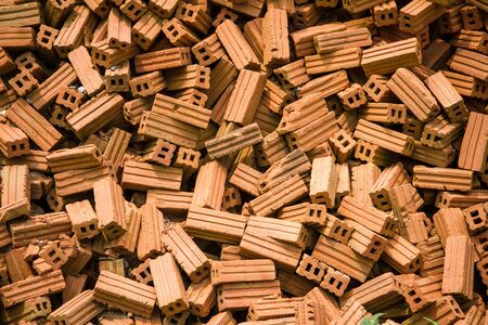 The bricks for house building Stock Photo