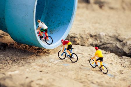 tiny: Cyclists tiny toy