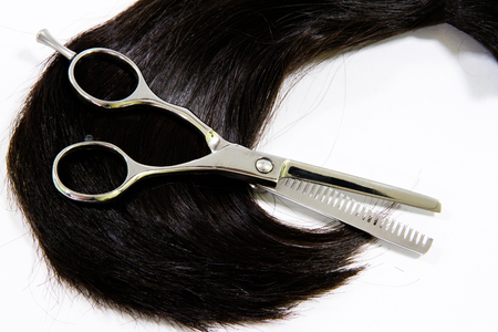 hair cutting: Scissors for hair cutting hair