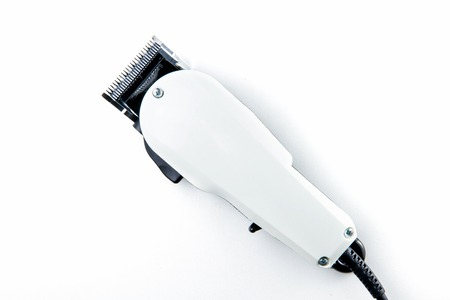 hair clippers: hair clippers for hairdressers in beauty salon Stock Photo