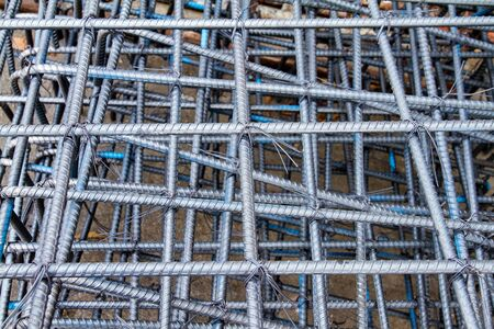 steelworks: steel mattress used for concrete rebar in the construction industry.