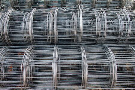 construction mesh: Steel Wire Mesh construction for flooring.Structural steel.