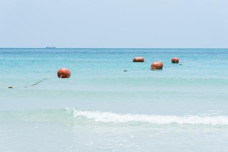 View of Namsai beach in Sattahip, Chon Buri, Thailand