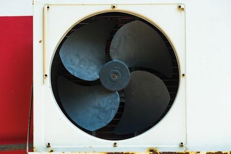 The old fan air conditioner Compressor