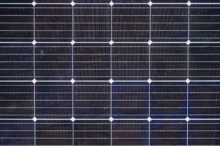 Solar panel, photovoltaic as background Stockfoto