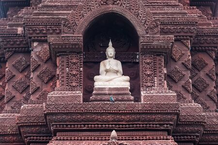 Buddha statue in the ancient country of Thailand 写真素材