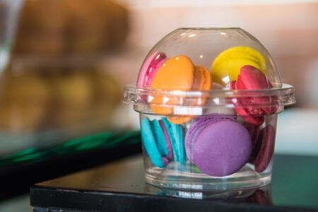 Colorful Macaroons, Unhealthy Sweets, France Food